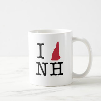 Amo New Hampshire Taza Clásica
