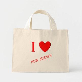 Amo New Jersey Bolsa De Mano