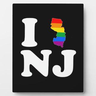 AMO NEW JERSEY GAY - BLANCO - .PNG PLACAS PARA MOSTRAR