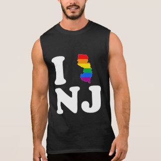 AMO NEW JERSEY GAY - BLANCO - .PNG CAMISETA SIN MANGAS