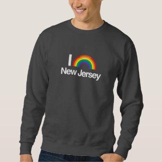AMO NEW JERSEY GAY -- .png Sudaderas
