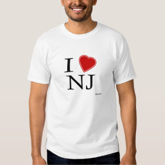 Amo New Jersey Playeras