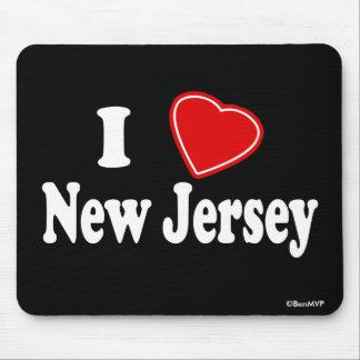 Amo New Jersey Alfombrilla De Raton