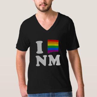 AMO NEW MÉXICO GAY - BLANCO - .PNG REMERA