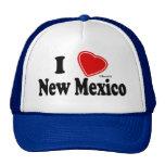Amo New México Gorros