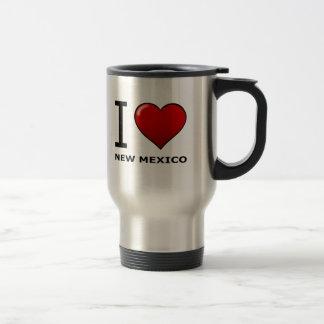 AMO NEW MÉXICO TAZA DE VIAJE