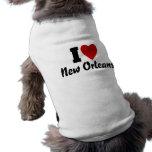 Amo New Orleans Camisa De Perro
