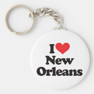 Amo New Orleans Llaveros