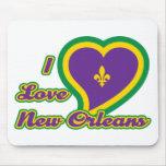 Amo New Orleans Tapete De Raton