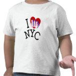 Amo New York City Camisetas