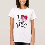 Amo New York City Playera