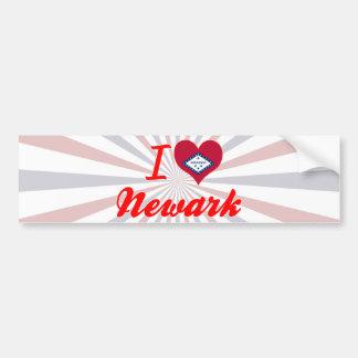 Amo Newark, Arkansas Etiqueta De Parachoque