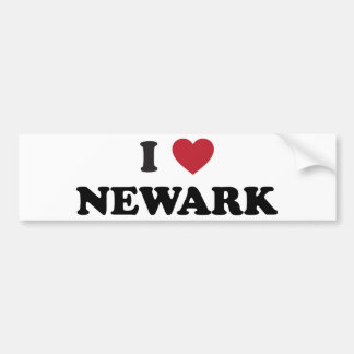 Amo Newark New Jersey Pegatina Para Auto