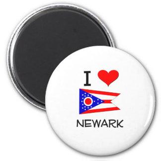 Amo Newark Ohio Imán Redondo 5 Cm