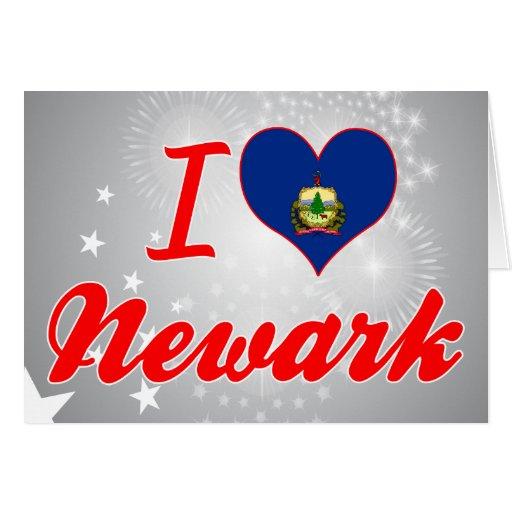 Amo Newark, Vermont Felicitaciones