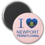 Amo Newport, PA Imanes De Nevera