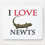 Amo Newts Tapetes De Ratón