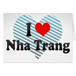 Amo Nha Trang, Vietnam Felicitación