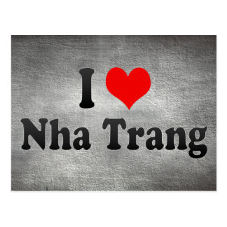 Amo Nha Trang, Vietnam Tarjetas Postales