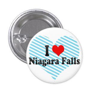 Amo Niagara Falls, Canadá Pin Redondo 2,5 Cm