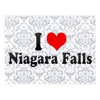 Amo Niagara Falls, Canadá Postales
