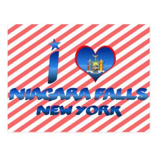 Amo Niagara Falls, Nueva York Tarjeta Postal
