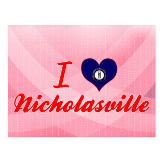 Amo Nicholasville, Kentucky Postales