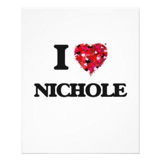 "Amo Nichole Folleto 4.5"" X 5.6"""