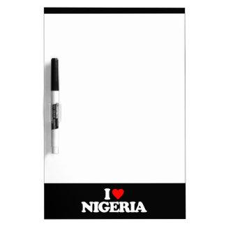 AMO NIGERIA TABLEROS BLANCOS