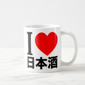 Amo Nihon-shu a k a motivo el vino de arroz Tazas De Café