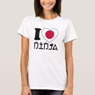 Amo Ninja - camiseta para los chicas