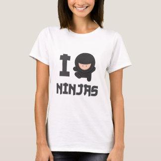 Amo ninjas playera