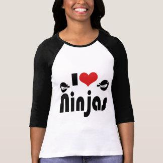Amo Ninjas Remeras