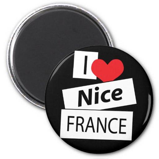Amo Niza Francia Iman Para Frigorífico