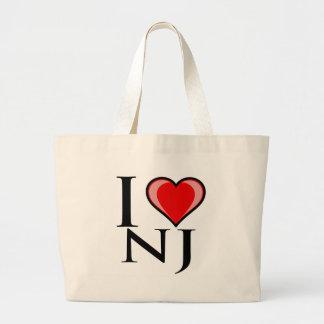 Amo NJ - New Jersey Bolsa De Mano