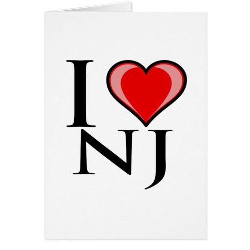 Amo NJ - New Jersey Tarjetón