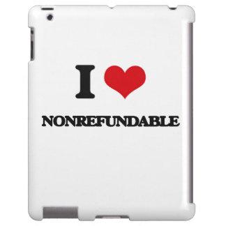 Amo no retornable funda para iPad