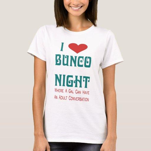 amo noche del bunco playera