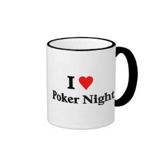Amo noche del póker taza a dos colores