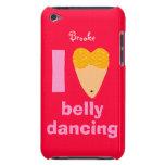 Amo nombre caprichoso del personalizado del bailar iPod Case-Mate protector