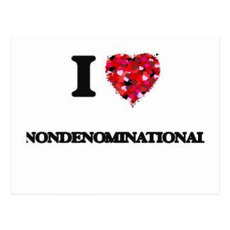 Amo Nondenominational Tarjetas Postales