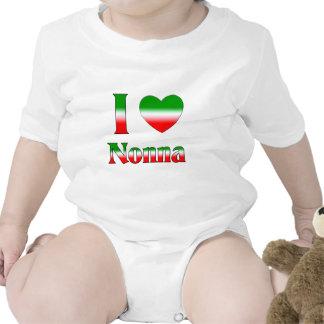Amo Nonna (la abuela italiana) Traje De Bebé