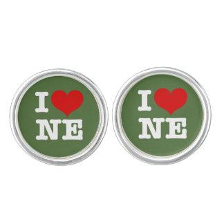 Amo Nordeast/Nueva Inglaterra Mancuernillas