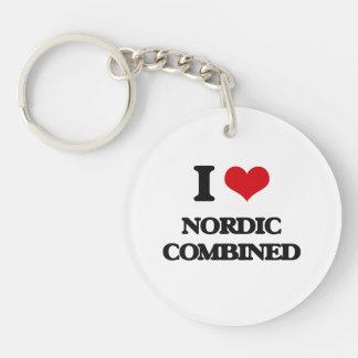 Amo nórdico combinado llavero
