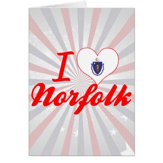 Amo Norfolk, Massachusetts Felicitaciones