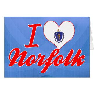Amo Norfolk, Massachusetts Tarjeton
