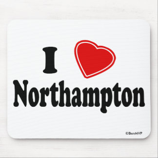 Amo Northampton Alfombrillas De Raton