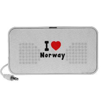 Amo Noruega iPod Altavoz