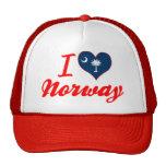 Amo Noruega, Carolina del Sur Gorras De Camionero