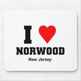 Amo Norwood New Jersey Alfombrillas De Raton